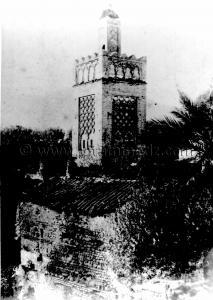 Tlemcen Photo Ancienne - Mosquée Sidi Lahcene