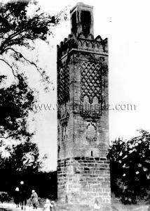 Tlemcen Photo Ancienne - Minaret d\'Agadir