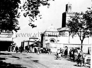 Tlemcen Photo Ancienne - La grande mosqu�e de Tlemcen