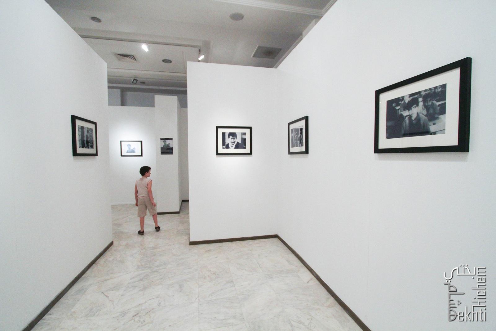 Tlemcen - Exposition photo  L\'enface et la Guerre au Palais de la Culture.