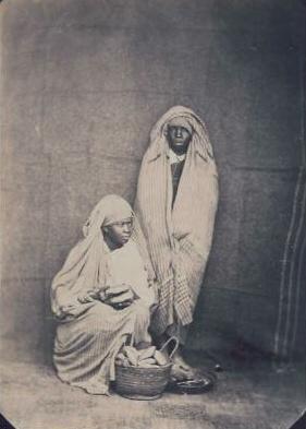 Negresses Biskra Algérie Félix Jacques Antoine Moulin 1802 -1875