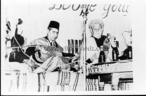 Tlemcen - Musique andalouse - Cheikh Larbi Bensari et cheikh redouane