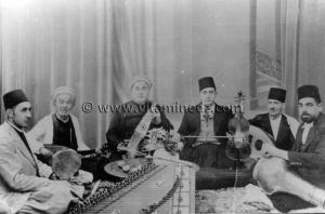 Tlemcen - Musique andalouse - Troupe Cheikh Larbi Bensari