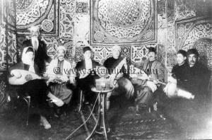Tlemcen - Musique andalouse - Cheikh Larbi Bensari et sa troupe au Caire