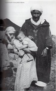 Le grand-p�re et ses petits enfants