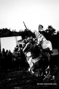 Très jeune cavalier à la Waada Sidi Safi non loin de Béni Saf (Wilaya de Ain Temouchent)