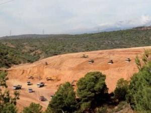 M'Chedallah (Bouira) - La carrière de tuf décriée Déforestation et bouleversement du milieu