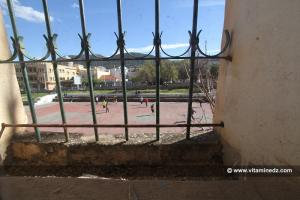 Petit terrain de foot de l'école des cadets à Tlemcen