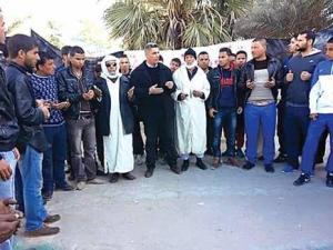 Sit-in de la CNDDC : L'hommage des chômeurs à Ouargla Au militant Hocine Aït Ahmed