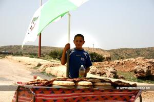 Tlemcen - Vendeur de pain près de Mefrouche