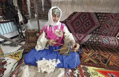 Khenchela - Le tapis de Babar, un h�ritage tout en authenticit�