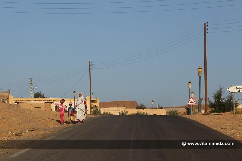 Nouveau village de Ksar Bakhti, pr�s de Taghit.