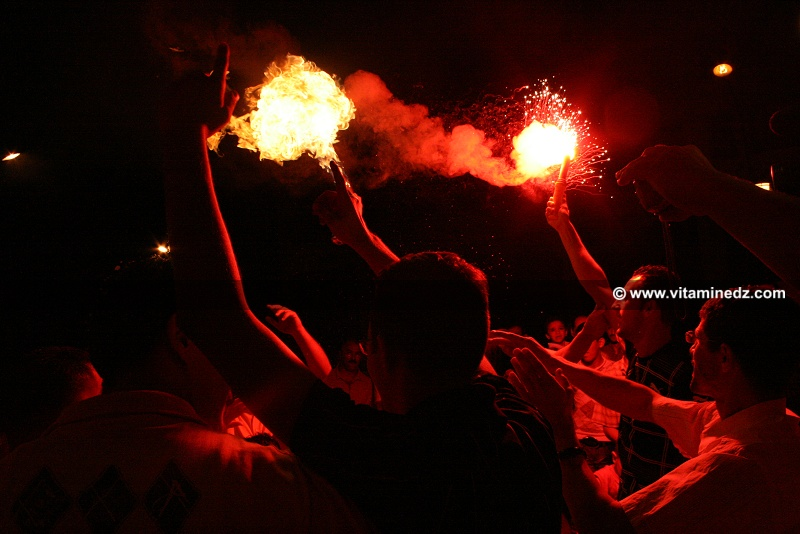 Mariage � Tlemcen, feux d'artifice