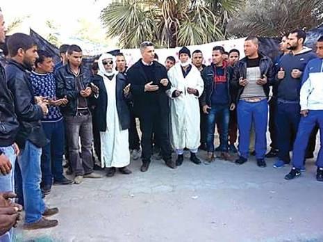 Sit-in de la CNDDC : L�hommage des ch�meurs � Ouargla
