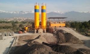 Production de produits agglomérés en béton