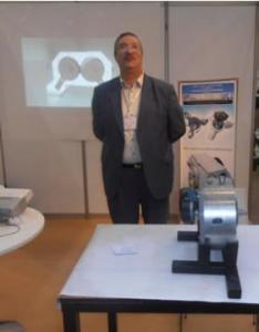 Portrait . Amer Bensidhoum. Un Oranais décroche la médaille d'argent au Salon des inventions de Genève: Un inventeur de renommée internationale