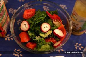 Les bienfaits de la Salade et du Radis