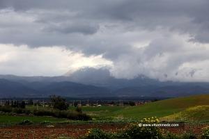 Le Mont Zaccar enneigé