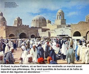 El Oued, Souk de la place Flatters