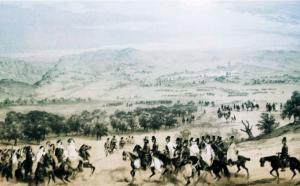 La rencontre du Maréchal Clauzel et du Général Mustapha