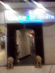 centre commercial de Bab Ezzouar - Restaurant indien