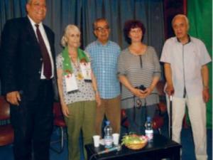 Biskra - Emouvant retour au pays pour Martine Dubois