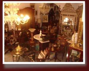 Galerie d'art antiquites et brocante