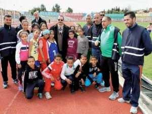 Association Sportive Nedjm Souk Ahras d'athlètisme: Une étoile montante