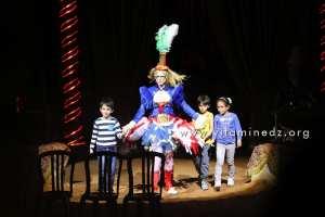Algérie - Cirque Amar en tournée à Tlemcen