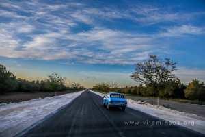 Oiseaux migrateurs sur la route de Sebdou Al Aricha