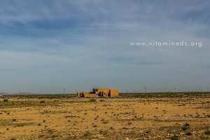 Ancienne gare abandonnée près de Mecheria