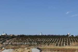 Village La3ribet vu de la route Nationale 2
