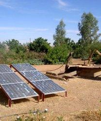 Ouargla -  Energie solaire pour 15 puits pastoraux