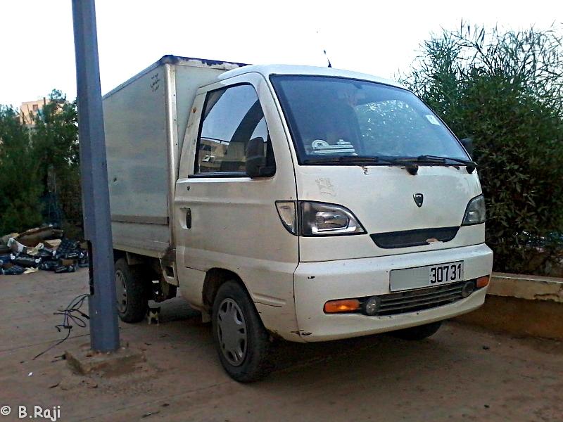 سيارة نقل بضائع صينية بحي الصباح