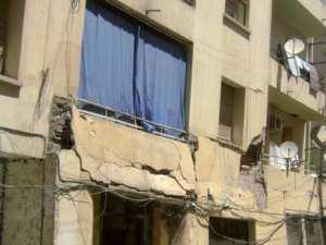 Rue Ghamri Ahmed Lakehal, cité des combattants, à Constantine 29 familles en danger