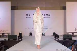 Le Haïk traditionnel algérien honoré à Séoul