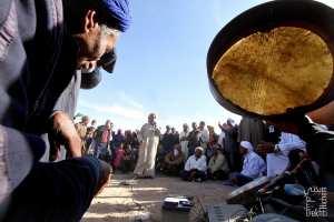 Gouwal ou Meddah à la Waada de Sidi Nasser