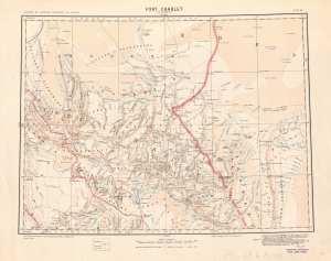 Carte de Fort Charlet : (Djanet)