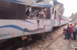 Boumerd�s - 78 bless�s dans une collision entre deux trains � Boudouaou