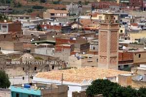La grande mosquée de Nedroma, Batie par Youcef ben Tachfin et le minaret date de 1348