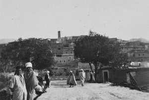 منطقة منعة ولاية باتنة .التقطت سنة 1937