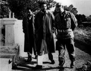 نيلسون مانديلا في الجزائر