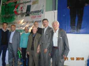 الملتقى الوطني الاول حول اجتماع لقرين التاريخي يوم 1954/10/21 تحت اشراف الشهيد مصطفى بن بولعيد بمنزل المجاهد بن مسعودة عبدالله.