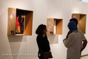 Exposition Des-Identités - Tlemcen - Montage de Rafik Nahoui