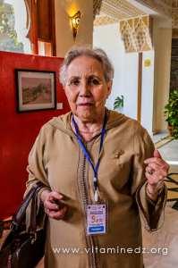 Mme Najet Khadda à Tlemcen