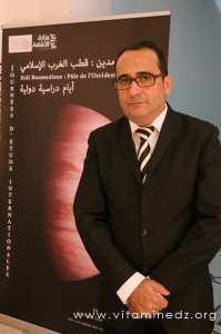 le Dr Zaïm Khenchelaoui, chercheur-anthropologue spécialiste du soufisme, aux Journées d'étude internationales sur