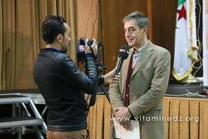 lePr Paul André Ballanfat, aux Journées d'étude internationales sur