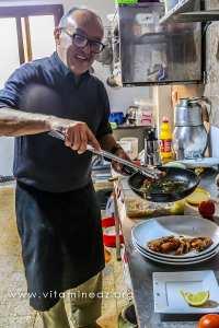 Tounane - Restaurant le Crabe sur la route de Boukhenais