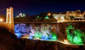 Constantine : Pont Suspendu Sidi M'Cid