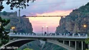 Bonsoir de Constantine... La ville des ponts suspendus !